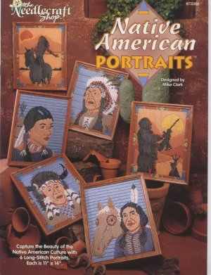 Plastic Canvas Native American Portraits Patterns 973388 The Needlecraft Shop