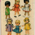 "Simplicity 7971 Toddler Dolls Wardrobe For 15"" Dolls Pattern - uncut"