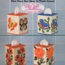 Columbia Minerva Nine Tissue Box Ideas In Plastic Canvas Book No 672