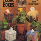 "Tissue Boxes ""For Every Room In Your House"" Plastic Canvas Book 147 Kappie Originals"