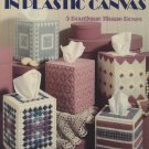 Pretty Patterns in Plastic Canvas Tissue Box Covers Leaflet 1300 Leisure Arts
