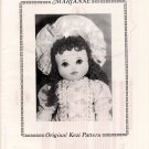 """Marianne"" 18 inch Cloth Doll Pattern by Kezi Matthews - Uncut th Doll Pattern - uncut"