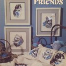 Feline Friends - Leisure Arts Leaflet 2022 Cross Stitch