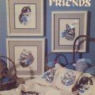 Feline Friends - Leisure Arts Leaflet 2022 Cross Stitch