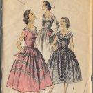 Advance 7938 Misses' Dress Sz 14 Bust 32 - uncut