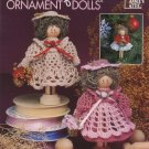 Annie's Attic Crochet Clothespin Ornament Dolls Pattern 879310