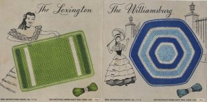 The Lexington and The Williamsburg Rug Instructions No. 111-A