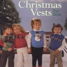 Christmas Vests For Kids Book Leisure Arts Leaflet 611
