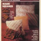 Easy to Read Easy to Make Magic Squares Pillow and Potholder Patterns Coats & Clark Book No 103