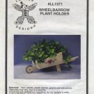 LuvLee Designs Plastic Canvas Wheelbarrow Plant Holder Pattern Only From Kit LL1371