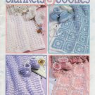 Blankets & Booties - Crochet - Leisure Arts Leaflet  2989