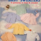 Baby Sweaters - knit & crochet - American School of Needlework 1040
