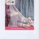 Quick as a Wink - Baby Blankets to Crochet - Leaflet LW1262 - Coats & Clark