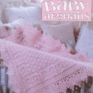Absolutely Gorgeous Baby Afghans Book Four - Crochet - Leisure Arts Leaflet 3015