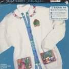 1992 Dimensions Coyote And Cactus Fashion Jacket Kit - Unopened - 80070