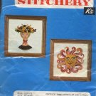 Crewel Creative Stitchery Kit Vintage Kit No. 853B Sunbrst - Unopened