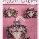 Umbrella Flower Baskets in Plastic Canvas - The Needlecraft Shop Booklet 888001
