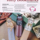 Plastic Canvas Kitty Bookmarks - Annie's Attic 885008