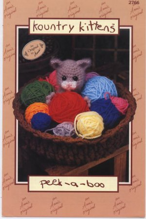 Annie's Attic Crochet Kountry Kittens Peek-a-boo Pattern 2766