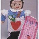 Annie's Attic Handy Hook Holder Crochet Pattern 8B013