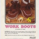 Annie's Attic Baby Bootie Boutique II Work Boots Crochet Pattern 373