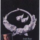 Annie's Attic Irish Crochet Jewelry Irish Rose Pattern 7304
