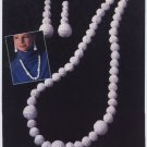 Annie's Attic Irish Crochet Jewelry Irish Pearls Pattern 7305