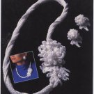 Annie's Attic Irish Crochet Jewelry Irish Mum Pattern 7306