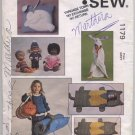 Sleeping Bag, Bag, Pillow, Towel, Clothes Kwik Sew Pattern No 1179 Uncut