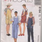 Maternity Jumper in Two Lengths Easy McCall's Pattern 8164 Size 8, 10, 12  Uncut