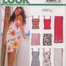 New Look Pattern 6178 Top, Dress and Skirt Size A 8-18 Uncut