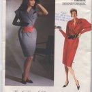 Vogue Patterns Designer Original Karl Lagerfeld Dress 1746 Size  10 - Uncut