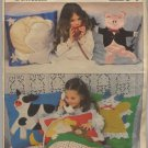 Vogue Patterns 2294 Childs Throw Pillows - Uncut