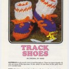 Annie's Attic Baby Bootie Boutique II Track Shoes Crochet Pattern 374