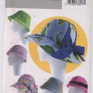 Butterick B4204 Misses' Summer Hats - Uncut