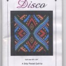 Disco A Strip Pieced Quilt by Dereck C Lockwood - Lockwood Enterprises Pattern 139