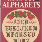 Better Homes and Gardens Plain & Fancy Alphabets - Cross Stitch Patterns