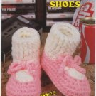 Annie's Attic Big Foot Boutique Dress Shoes Crochet Pattern 435