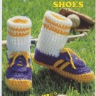 Annie's Attic Big Foot Boutique II Track Shoes Crochet Pattern 443