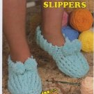 Annie's Attic Big Foot Boutique House Slippers Crochet Pattern 433