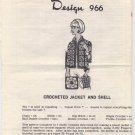 Design 966 Crocheted Jacket and Shell Pattern