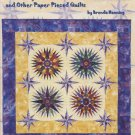 Sharp Pointies and Other Paper Pieced Quilts Book by Brenda Menning