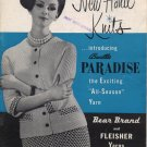 New Hand Knits introducing Bucilla Paradise - Vol 70 - Knitting Patterns