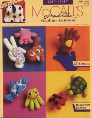 Orphan Animals - Leaflet 14095 McCall's Creates - Fast & Fun