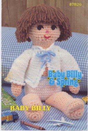 Annie's Attic Baby Billy & Spring Baby Billy Crochet Pattern 87B20