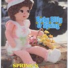 Annie's Attic Baby Billy & Spring Spring's Sunsuit Set Crochet Pattern 87B22