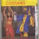 Misses, Mens & Teen Boy's Jester & Bellydancer Costumes Pattern McCall's 2814 Size Z (Lrg-Xlg) Uncut