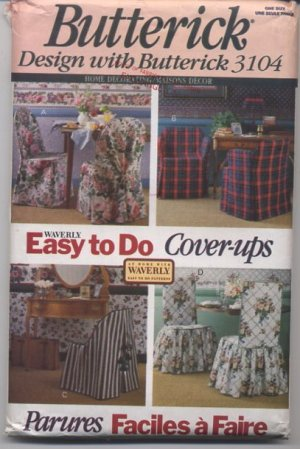 Butterick 3104 Easy to Do Cover-ups Patterns - Uncut