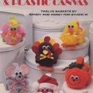 Pom-pom Playmates & Plastic Canvas Leaflet 1485 Leisure Arts