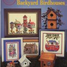 Backyard Birdhouses Cross Stitch Patterns - Cross My Heart CSB-123